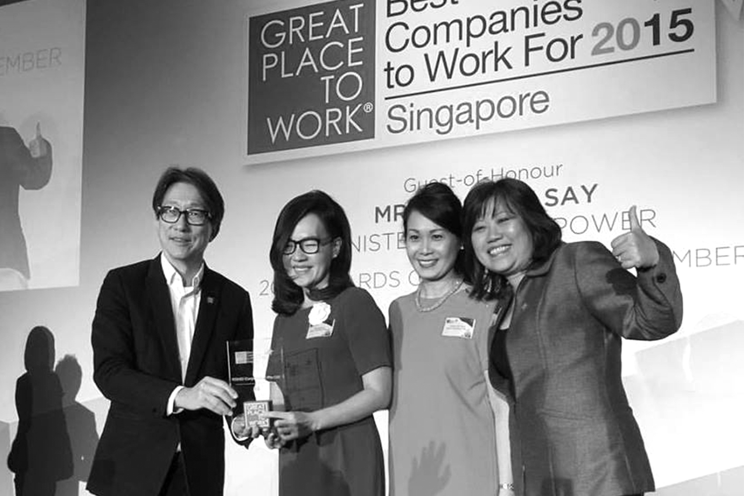 2015 ROHEIs First GPTW Award