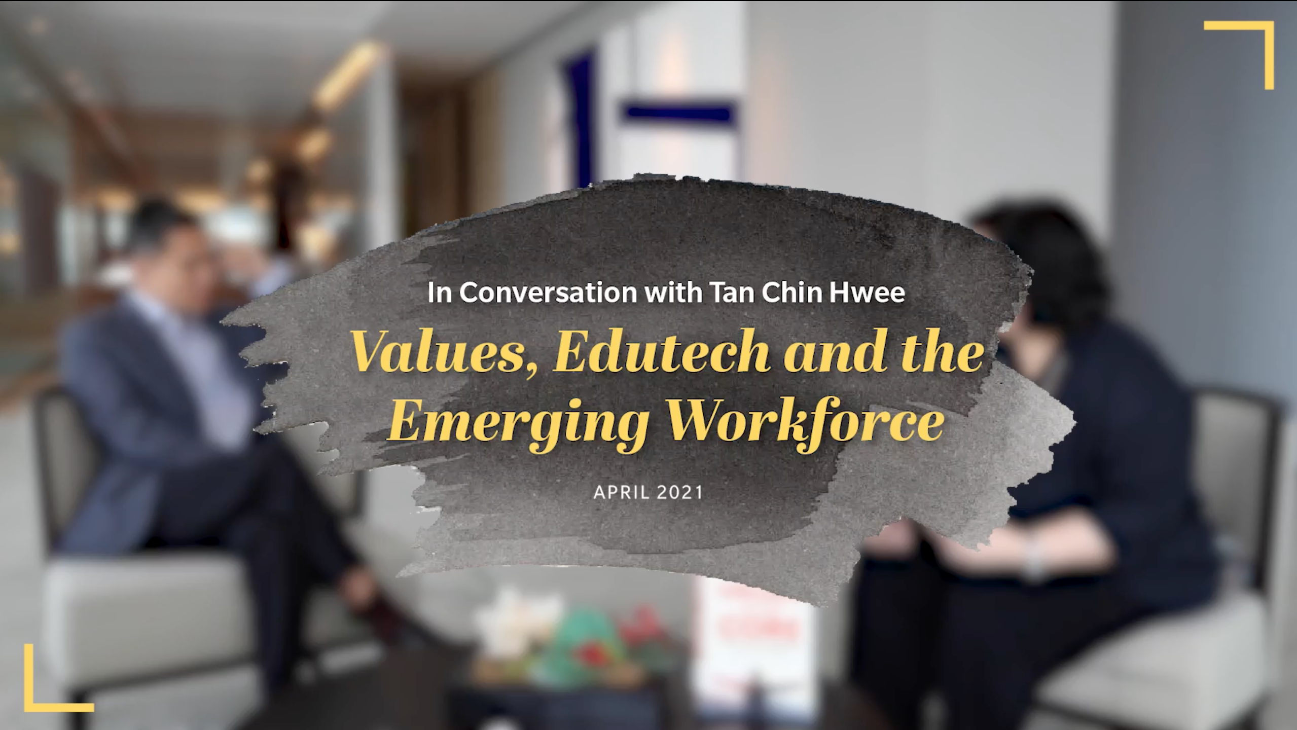 Values, EduTech and the Emerging Workforce [Video]